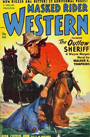 Masked Rider Western Pulp Magazine - November 1950: Western Pulp Magazines from the Past