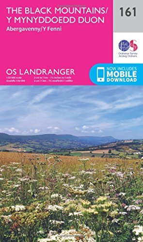 Landranger (161) The Black Mountains (OS Landranger Map)