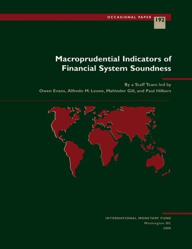 Macroprudential Indicators of Financial System Soundness (Occasional Paper