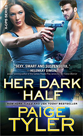 Review: Her Dark Half by Paige Tyler (@mlsimmons, @paigetyler, @SourcebooksCasa)