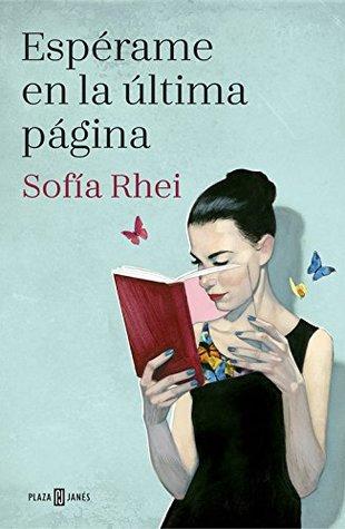 portada de la novela contemporánea Espérame en la última página