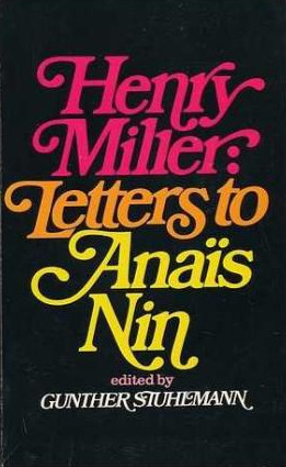 Letters to Anaïs Nin
