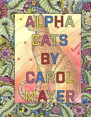 Alpha Cats: Adult Coloring Book with Alphabet Cats