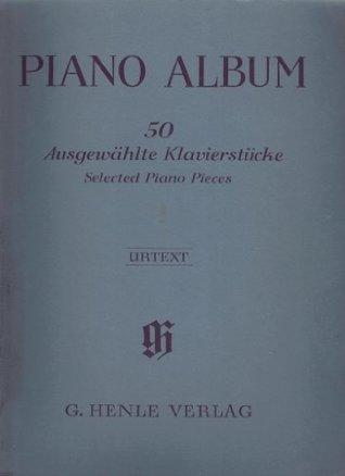 Piano Album ~ 50 Selected Piano Pieces (Ausgewahlte Klavierstücke) 50 Years Limited Edition