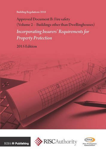 Approved Document B: Fire Safety : Incorporating Insurers' Requirements for Property Protection: Buildings Other Than Dwellinghouses Volume 2