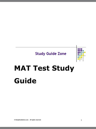 studyguidezone MAT Test Study Guide by Study Guide Zone