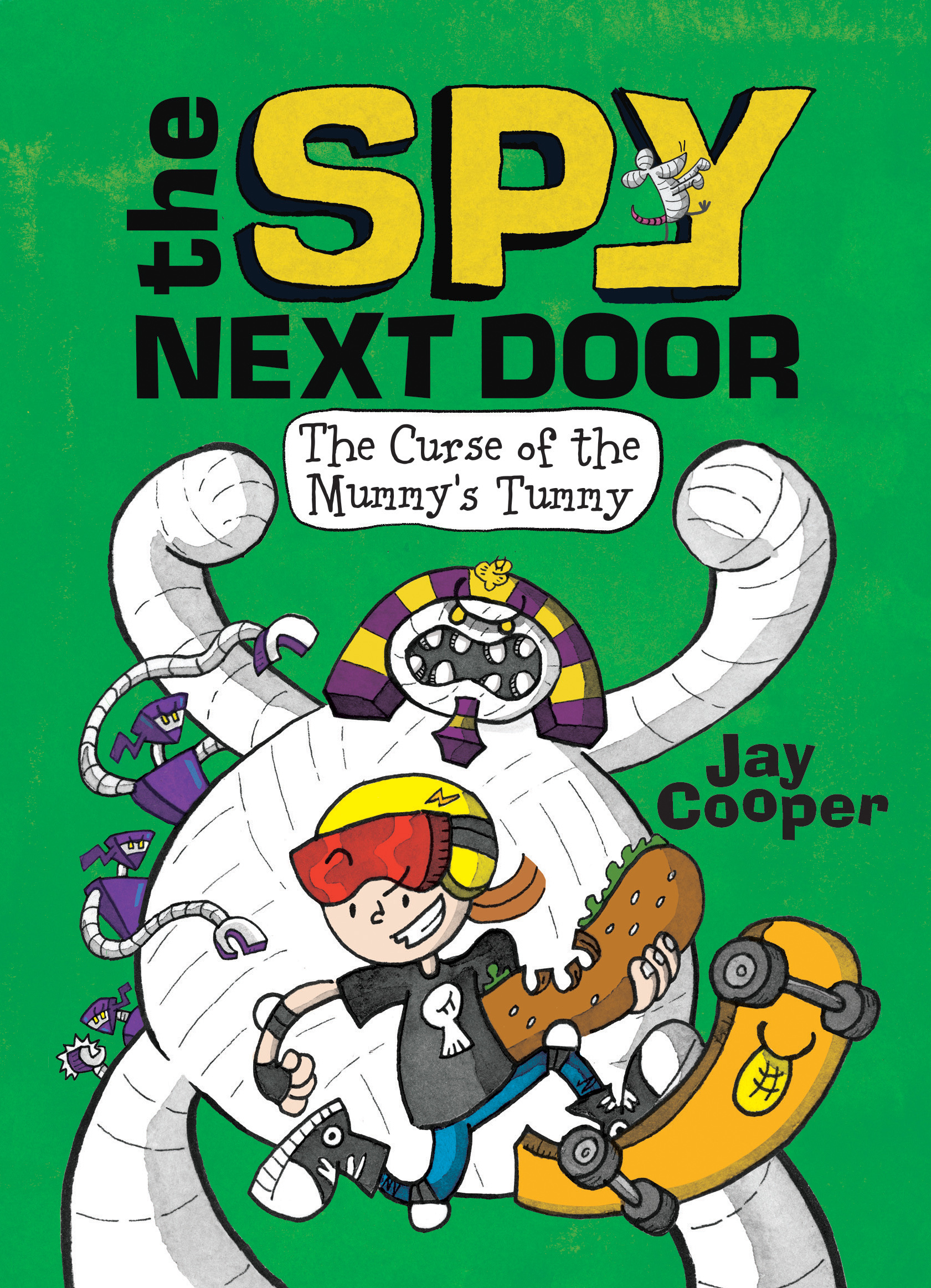 The Curse of the Mummy's Tummy (The Spy Next Door, #2)