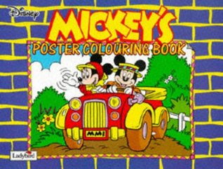 Mickey's Colouring Poster Book (Colouring poster books)