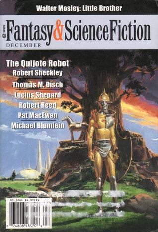 Fantasy & Science Fiction, December 2001 (The Magazine of Fantasy & Science Fiction, #601)
