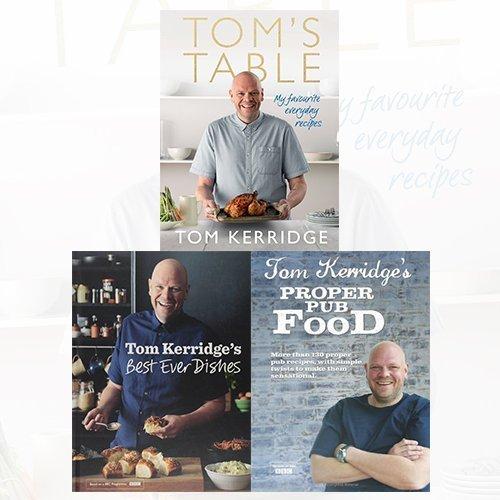 Tom Kerridge Cookbook 3 Books Bundle Collection