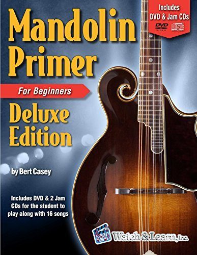 Mandolin Primer Book For Beginners Deluxe Edition