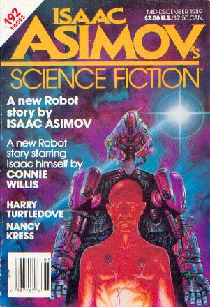 Isaac Asimov's Science Fiction Magazine, Mid-December 1989 (Asimov's Science Fiction, #151)