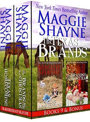 The Texas Brands Book 9 & Bonus: Texas Homecoming & The Brands Who Came for Christmas