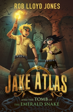 Jake Atlas and the Tomb of the Emerald Snake (Jake Atlas #1)