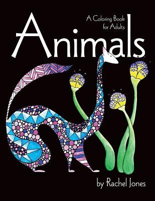 Animals: Coloring Book for Adults
