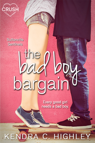 The Bad Boy Bargain (Suttonville Sentinels, #1)