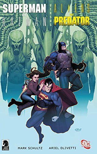 Superman/Batman vs. Aliens/Predator (2007) #2 (Superman and Batman Vs. Aliens and Predator (2007))