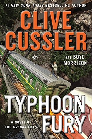 Typhoon Fury (The Oregon Files #12)