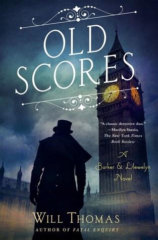 Old Scores (Barker & Llewelyn, #9)