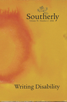 Southerly: Writing Disability (Vol. 76, No. 2, 2016)