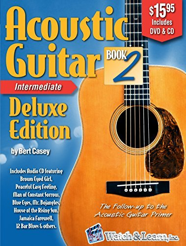 Acoustic Guitar Book 2 with Video & Audio Access