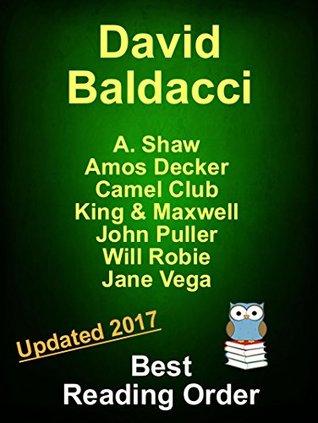 David Baldacci Best Reading Order Updated 2017: David Baldacci Books and Stories Series Reading Order