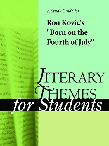 """A Study Guide for Ron Kovic's """"Born on the Fourth of July"""""""
