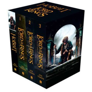 The Lord Of The Rings and the Hobbit 4 Books Collection Set
