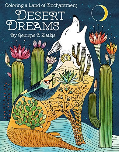 Desert Dreams: Coloring a Land of Enchantment