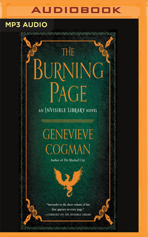 The Burning Page(The Invisible Library 3)