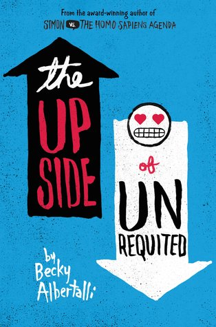 The Upside of Unrequited by Becky Albertalli thumbnail