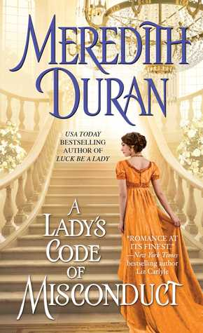 A Lady's Code of Misconduct by Meredith Duran | Review + Giveaway