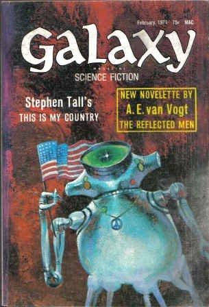 Galaxy Magazine, February 1971 (Vol. 31, No. 3)