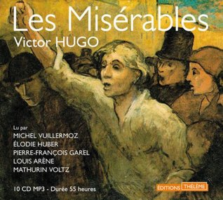 Les Miserables - 10 CD MP3 in French - 55 hours recording