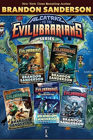 Alcatraz vs. The Evil Librarians Series: (Alcatraz vs. The Evil Librarians, The Scrivener's Bones, The Knights of Crystallia, The Shattered Lens, The Dark Talent)