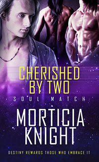 Release Day Review: Cherished by Two (Soul Match, #2) by Morticia Knight
