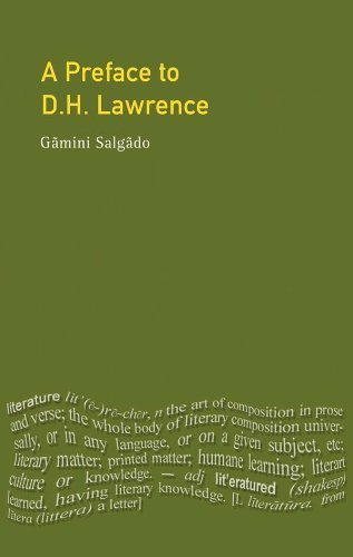 A Preface to Lawrence (Preface Books)