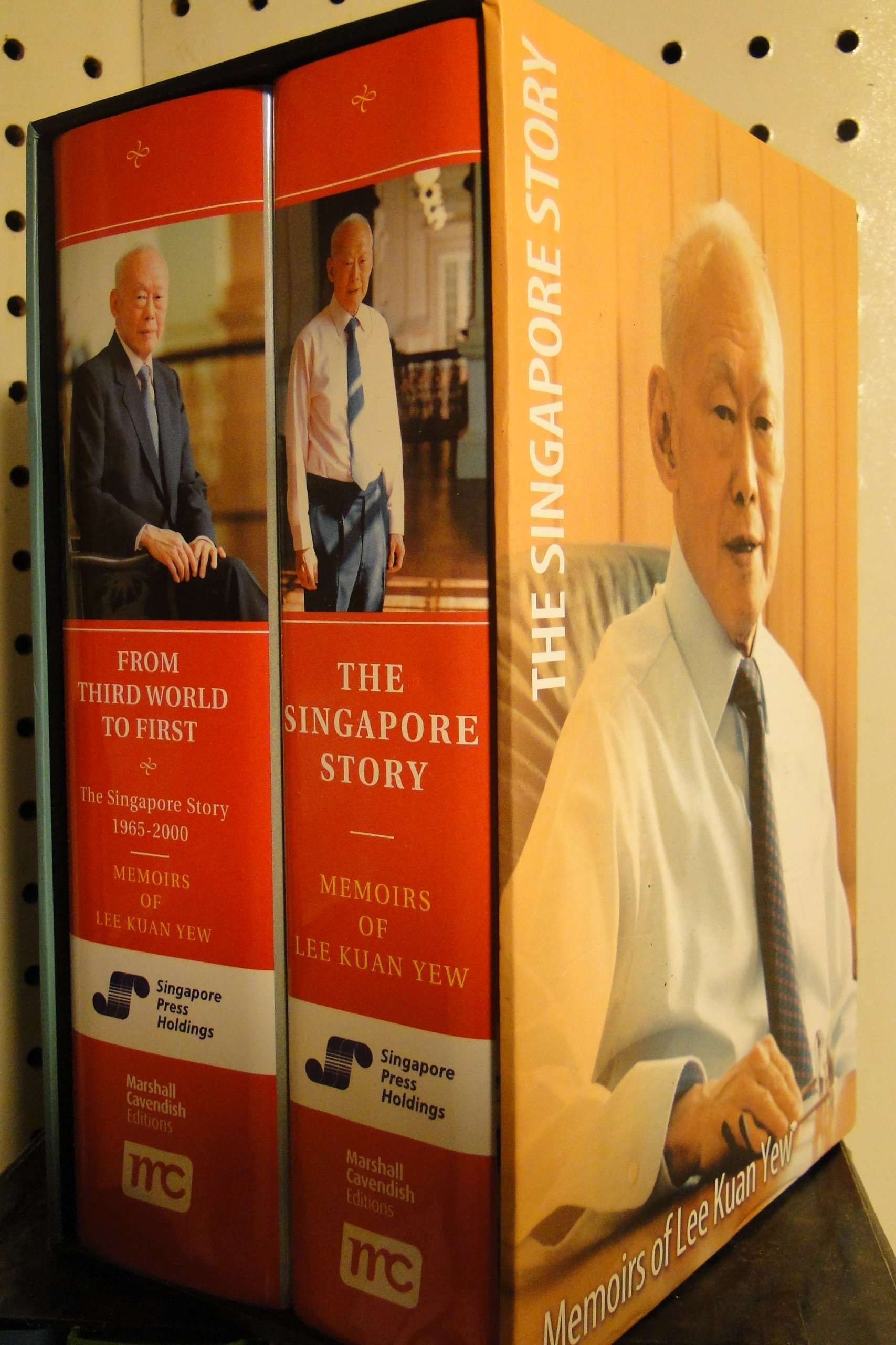 Memoirs of Lee Kuan Yew: The Singapore Story & From Third World To First