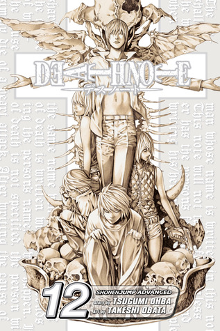 Portada del tomo 12 del cómic manga de fantasía y suspense Death note: Final