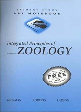 Student Study Art Notebook: Integrated Principles of Zoology