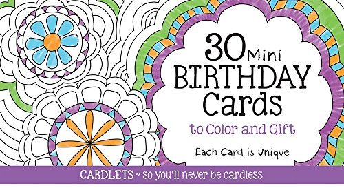 Cardlets: Birthday
