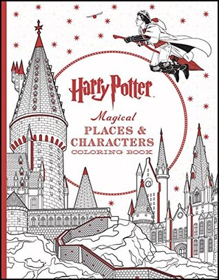Harry Potter Colouring Book 3 Magical Places Characters By