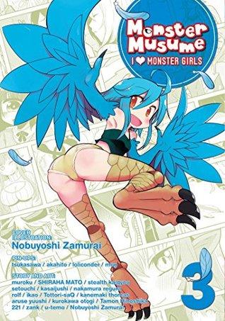 Monster Musume: I Heart Monster Girls Vol. 3 [Monster Musume: I ♥ Monster Girls 3] (Monster Musume no Iru Nichijou - 4-koma Anthology, #3)