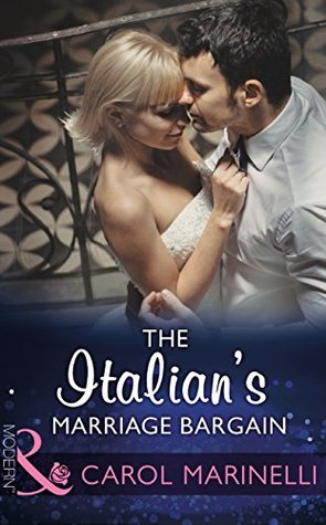 The italians marriage bargain by carol marinelli fandeluxe Images