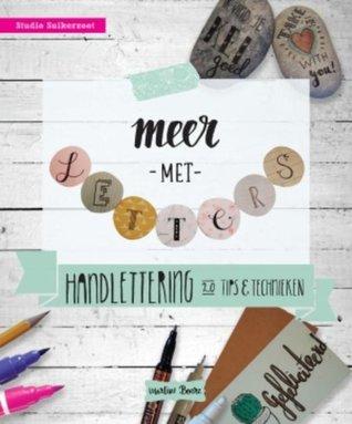 Meer met letters by Martine Boere
