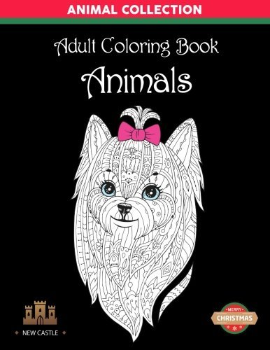 Adult Coloring Book Animals: Stress Relieving Animal Designs