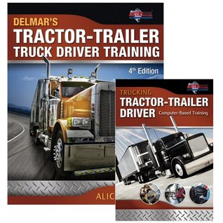 Bundle: Tractor-Trailer Truck Driver Training + Trucking: Tractor-Trailer Driver Computer Based Training, CD-ROM