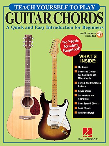 Teach Yourself to Play Guitar Chords: A Quick and Easy Introduction for Beginners