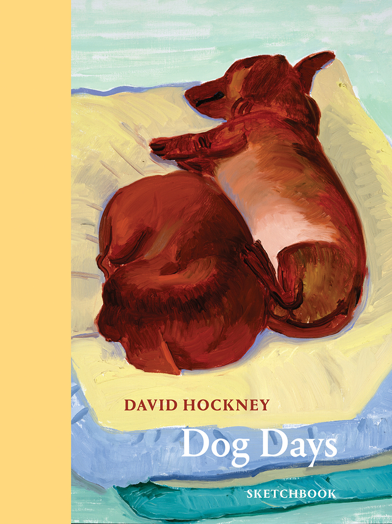 David Hockney Dog Days: Sketchbook