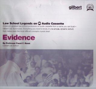 Law School Legends Evidence (Law School Legends Audio Series)